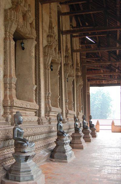 Laos temple de Haw Pha Kaeo