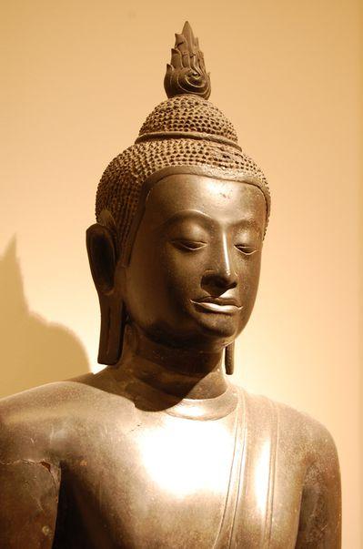 Thailande Bouddha Maravijaya art d'Ayutthaya (2)
