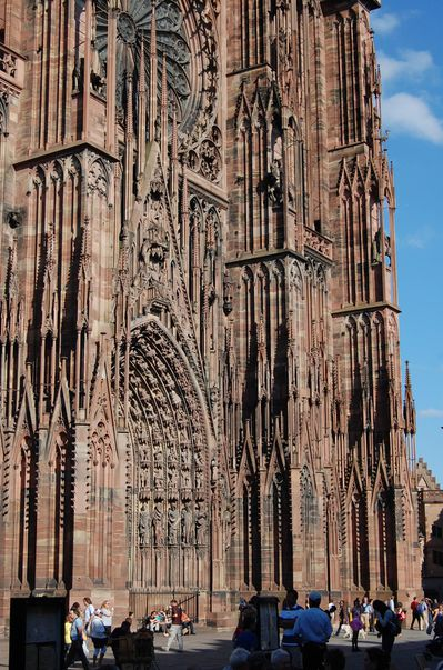 Strasbourg cathedrale sculptures (15)