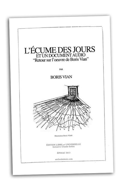 boris vian couverture photo dessin