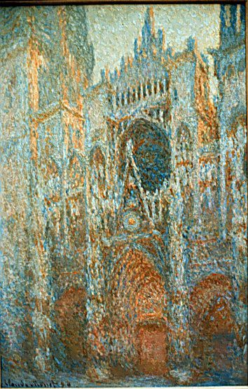 Monet la cathedrale de rouen (4)