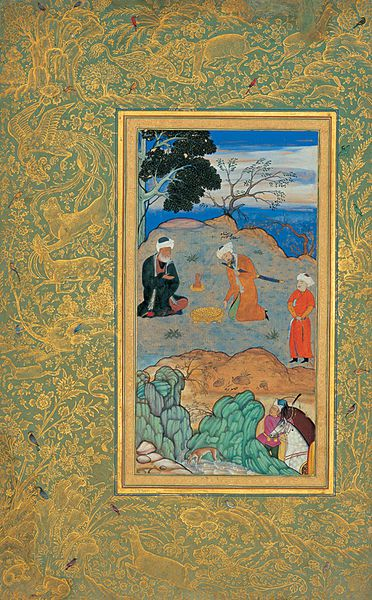 Behzad advice ascetic
