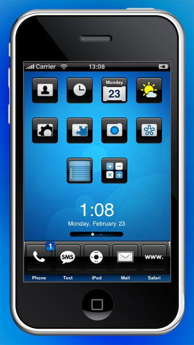 iphone design iblue 1