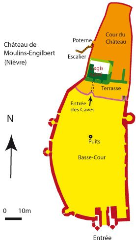 plan Moulins-Engilbert couleur