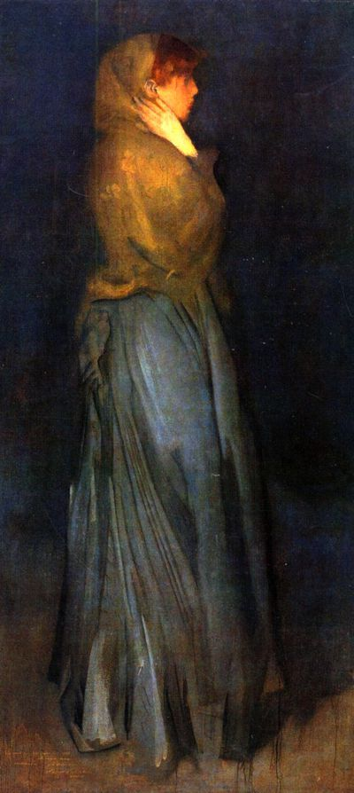 James Whistler Miss Rosalind Birnie Philip,Miss Rosalind Bi