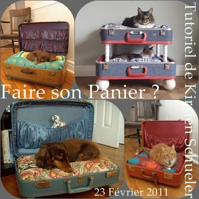 panier pour chat chien faire soi m me que cache. Black Bedroom Furniture Sets. Home Design Ideas