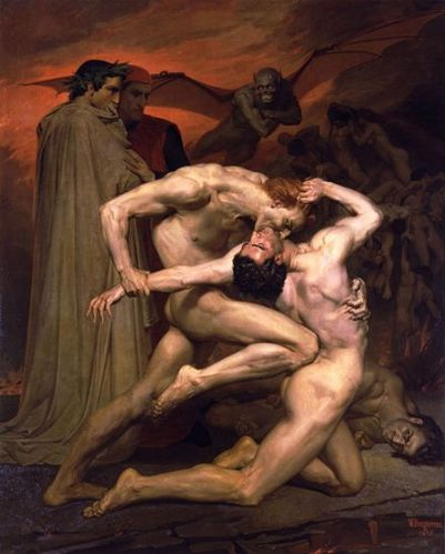 Dante And Virgil In Hell 1850 40f6