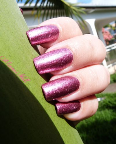 LA colors metallic pink 1