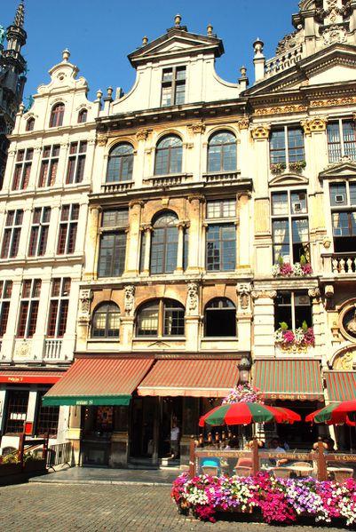 Maison de Victor Hugo en exil à Bruxelles