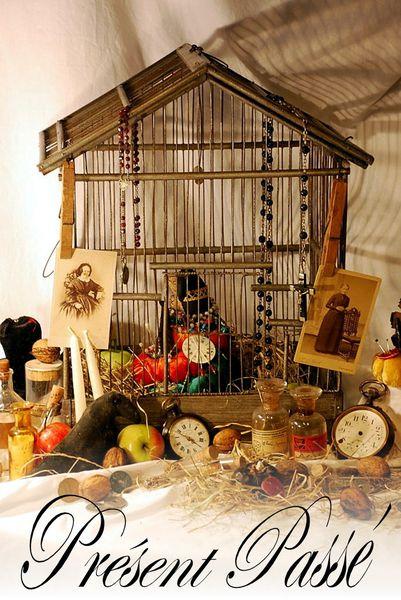 cage à oiseaux du second empire 22