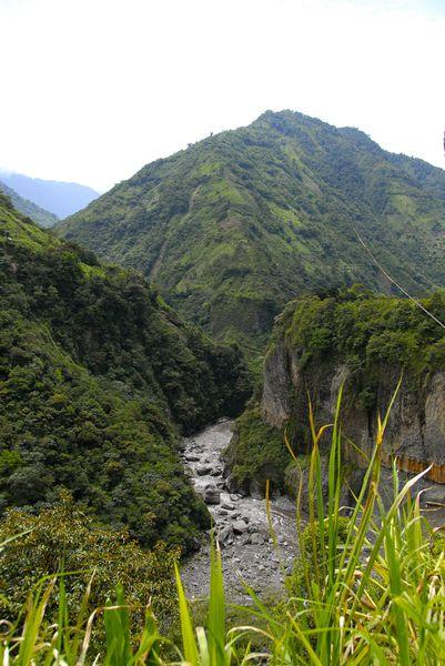 vallée du rio pastaza