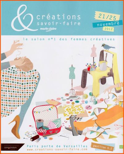Salon creation et savoir faire a paris le scrap de n th for A new creation salon