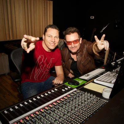 Tiësto and Bono - U2 for RED