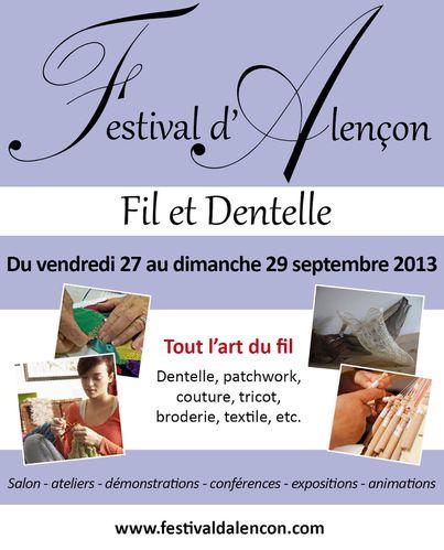 Festival Alençon 27-29 sept 2013