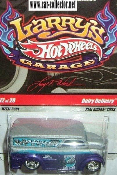 dd ford dairy delivery larry's garage 2009