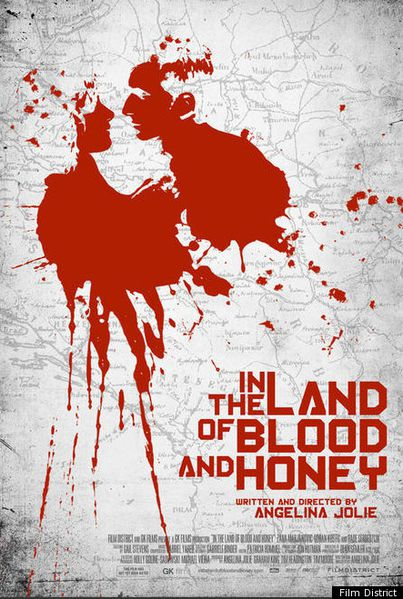 In the Land of Blood & Honey Poster