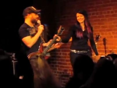 Allison Iraheta & Monte Pittman cover Madonna's ''Crazy for You''