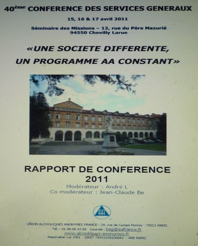 FRANCE 2011 CONF