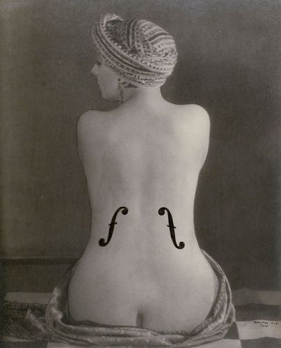 Le Violon dIngres (1924) Man Ray