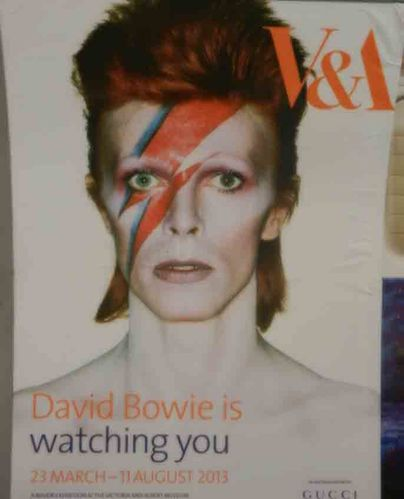 affiche bowie