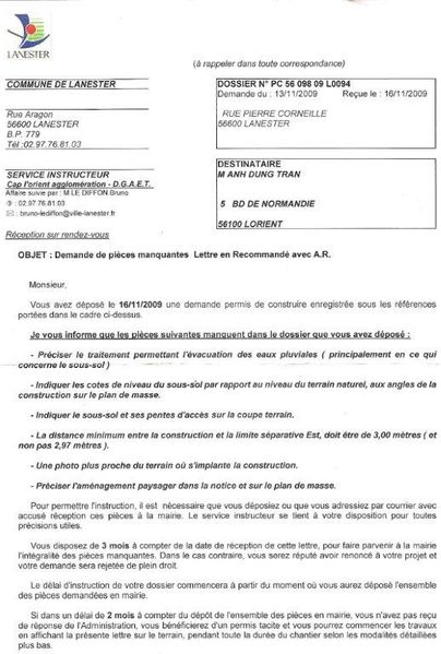 Modification permis de construire modification permis de for Modification d un permis de construire