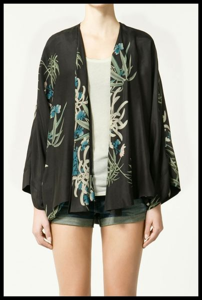 Zara kimono