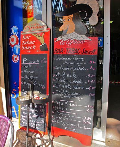 porte-menu Cyrano 1044