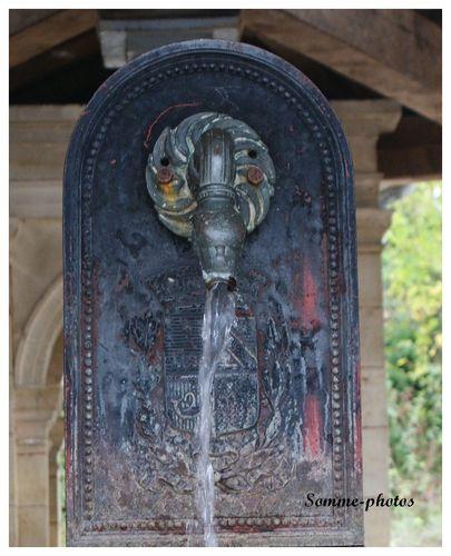 Confracourt fontaine lavoir fontaine ( détail)
