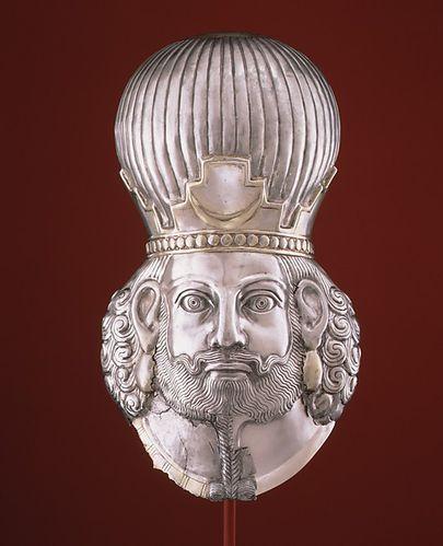 sassanide masque de roi