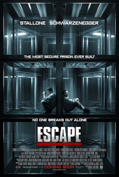 ESCAPE PLAN (affiche USA)