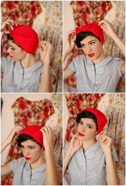 coiffure foulard cheveux tuto blog coiffure tendance femme. Black Bedroom Furniture Sets. Home Design Ideas