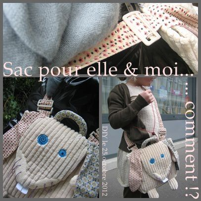 sac d&#xE9;glingos TUTO DIY