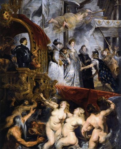 Peter Paul Rubens - The Landing of Marie de Médicis at Mar
