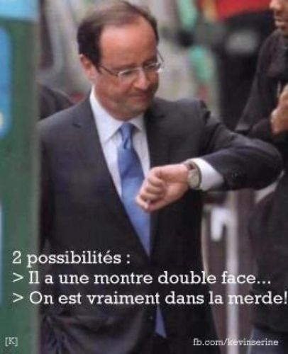 hollande montre