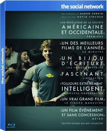 The Social Network Edition Collector 2 Blu Ray
