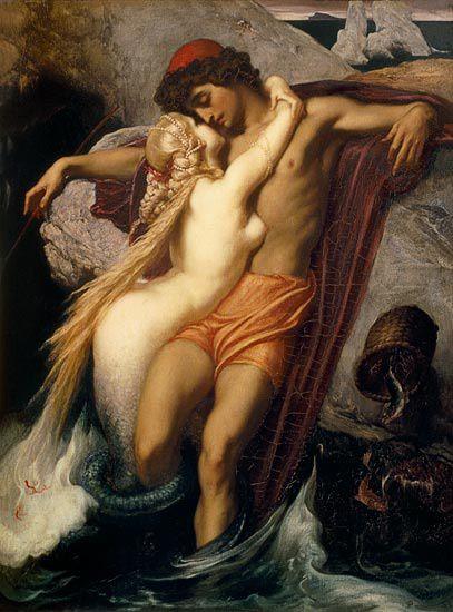 Frederic-Leightont-la-sirene-et-le-marin.jpg