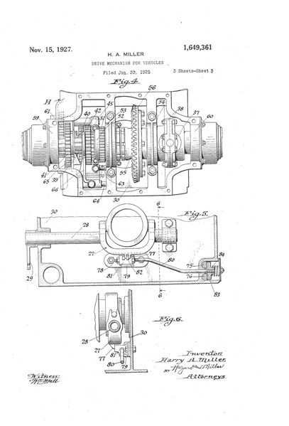 Patent front-drive 1925-7 Page 3