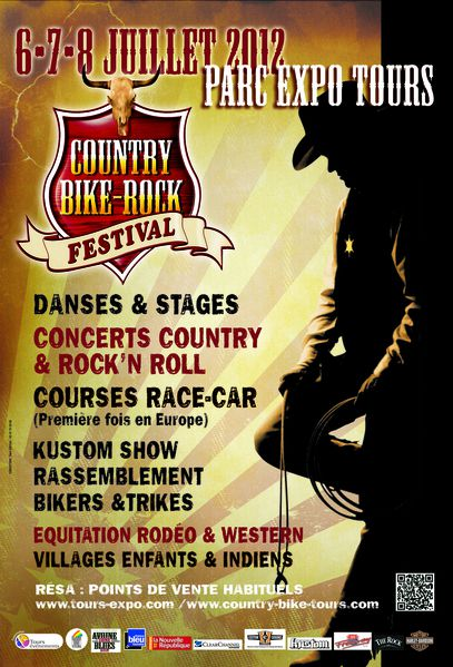 Visuel Country Bike Rock Festival