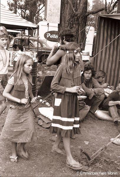 Hippies autsr Jeunes