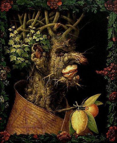489px-Giuseppe Arcimboldo - Winter, 1573