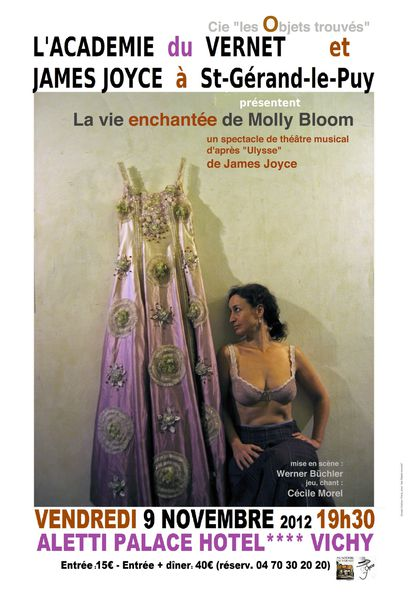 Molly Bloom Affiche - Copie (2)