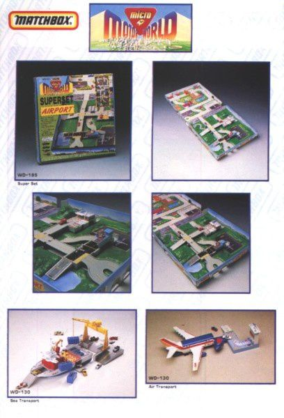 catalogue matchbox annee 1992 s32 set airport