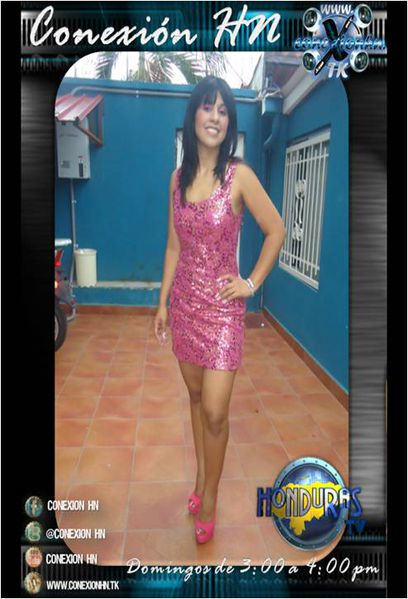 Ana Henriquez en Conexion HN