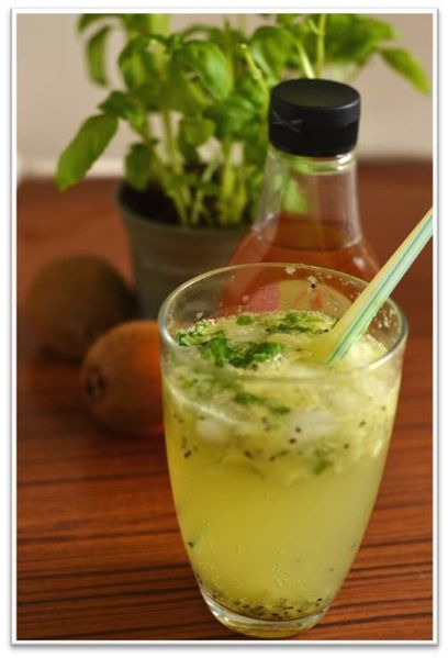 Virgin Muddled Kiwi Mojito Recipes — Dishmaps