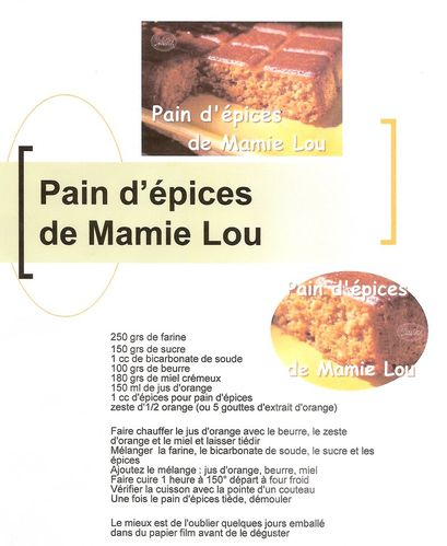 pain d'epices flexipan
