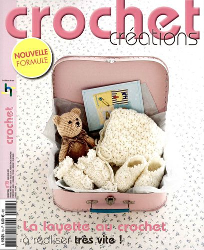 Crochet creations layette mai2013