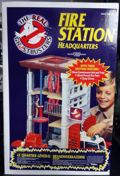 FIREHOUSE GHOSTBUSTERS KENNER MISB 2