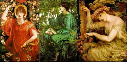 Gabriel Charles Dante Rossetti choix d'oeuvres