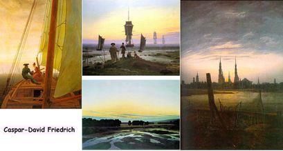 Caspar-David Friedrich choix d'œuvres