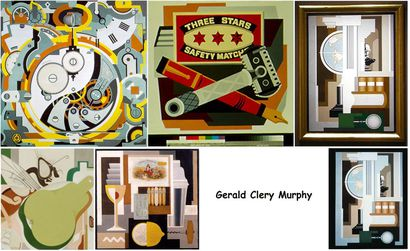 Gerald Clery Murphy choix d'oeuvres